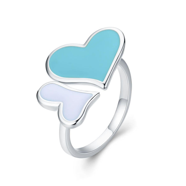 Eternal Love Double Heart Ring