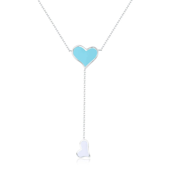 Eternal Love Double Heart Necklace - Euro Sparkles