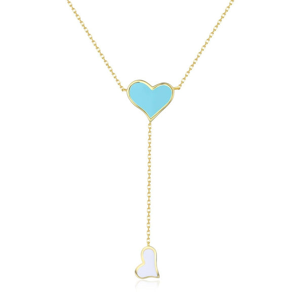 Eternal Love Double Heart Necklace