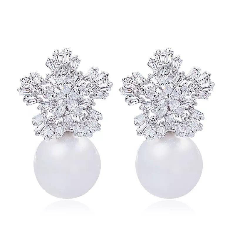 Firenze Pearl Earrings - Euro Sparkles