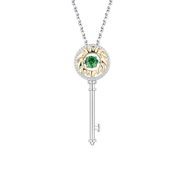 Mini Astra Key Leo Necklace - Euro Sparkles