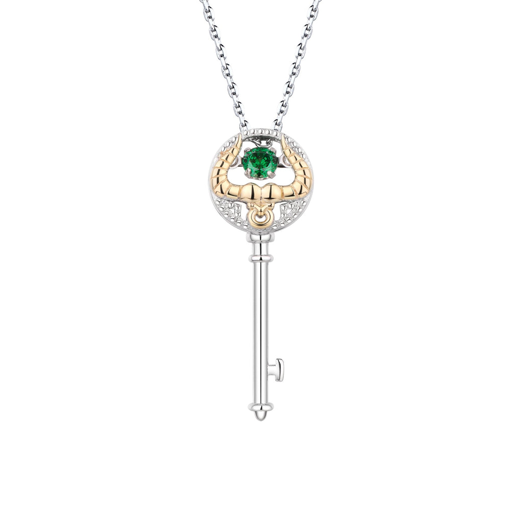Mini Astra Key Taurus Necklace - Euro Sparkles