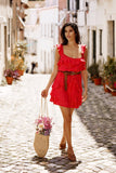 SUNDRESS EMY ROMA RED