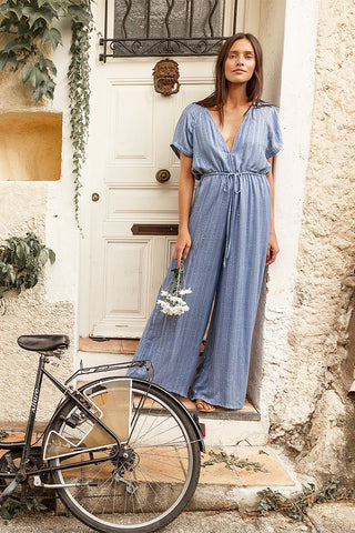 SUNDRESS PAM JUMPSUIT ROMA POWDER BLUE
