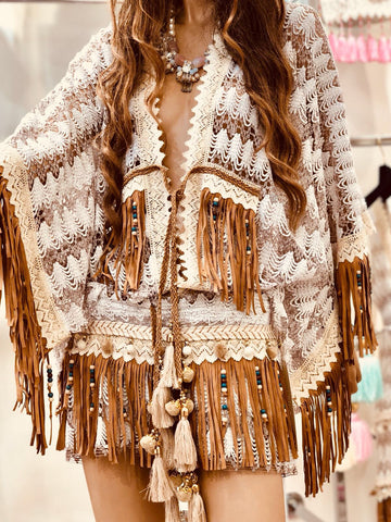 Gouna fringe gypsy set
