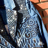 Diamond For Eden Luxury Denim Jacket
