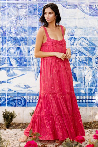 SUNDRESS LUCIA ROMA RED