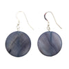 Abalone Single Stone Earrings