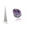 Greeting Card - Amethyst