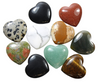 Assorted Gemstone Hearts