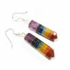 Chakra Pencil Point Earrings