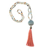 Amazonite with Accent Mala
