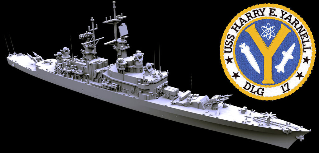 TF 08D USS Harry E. Yarnell CG-17 1990