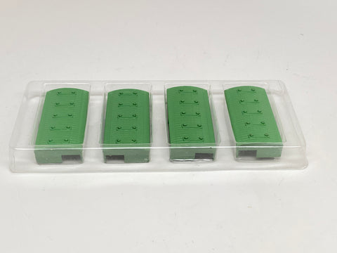 M 839 Green Customs Shed loose (set of 4) (used)