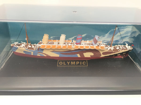 RMS Olympic in Dazzle Camouflage 1/1750 scale