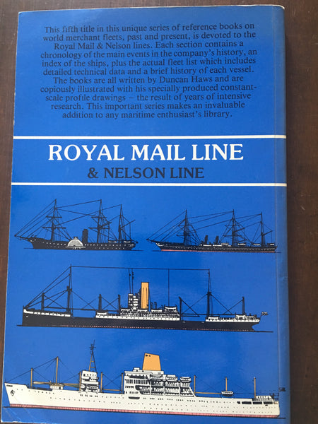 Merchant Fleets 5: Royal Mail Line by Duncan Haws