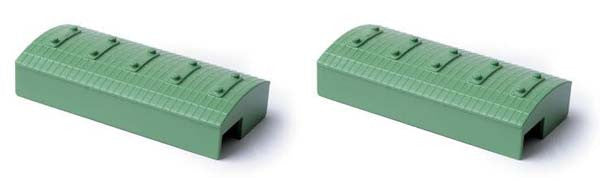 M 839A Green Customs Shed (set of 2)