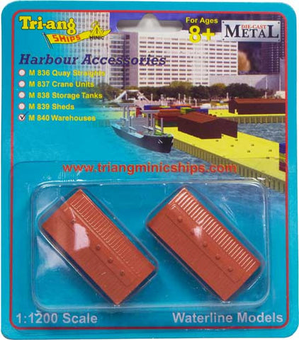 M 840 Warehouse (set of 2)