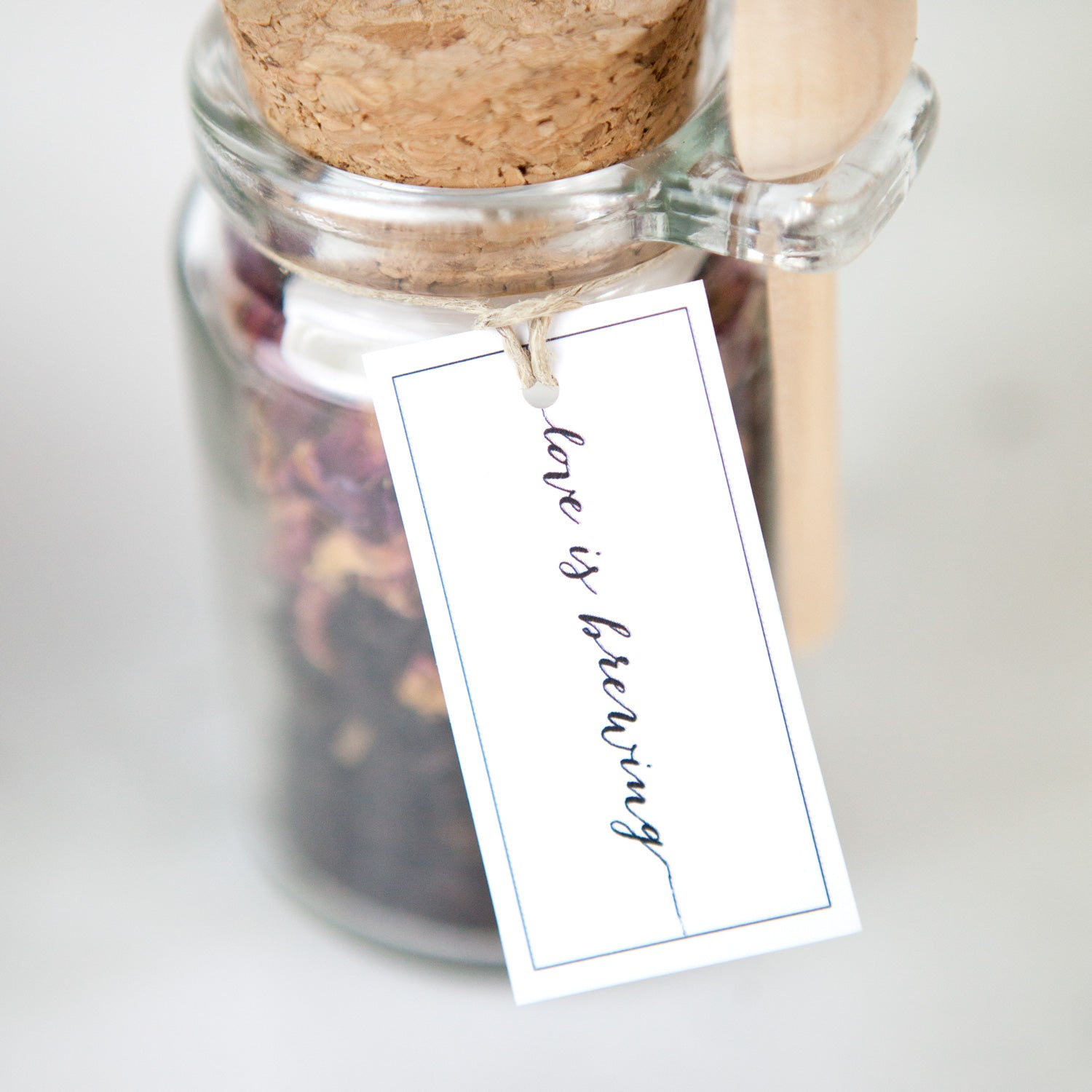Foxblossom Co. DIY Tea Party Bridal Shower Favors