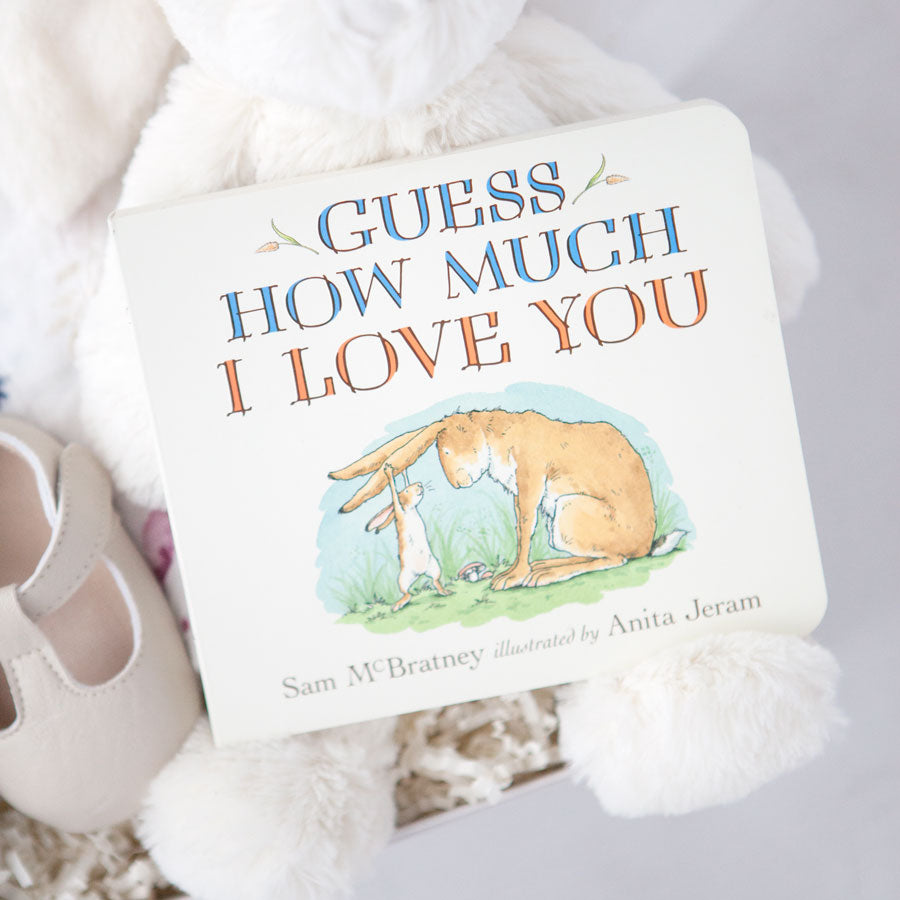 BABY GIFTS GUESS HOW MUCH I LOVE YOU BRAND NEW PLEASE CHOOSE GIFT
