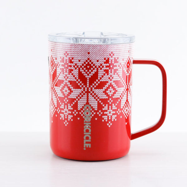Coffee Mug | Red Fairisle