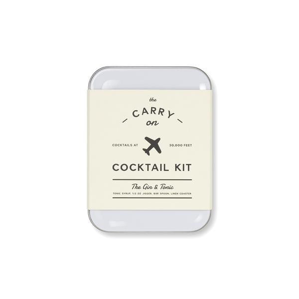 The Carry On Cocktail Kit | Gin & Tonic