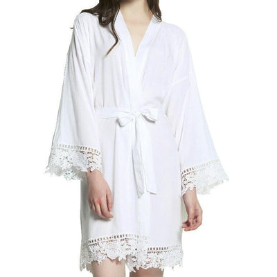 Luxe Lace Robe