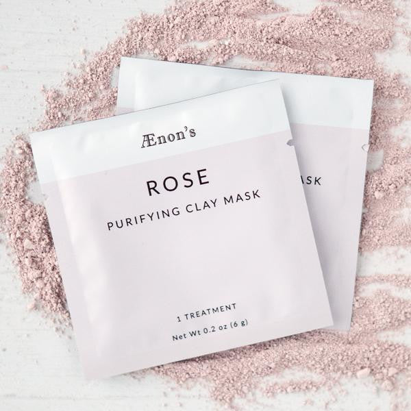 Rose Purifying Face Mask | Set of Two