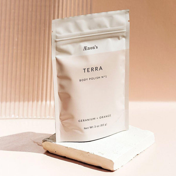Terra Geranium + Orange Body Polish