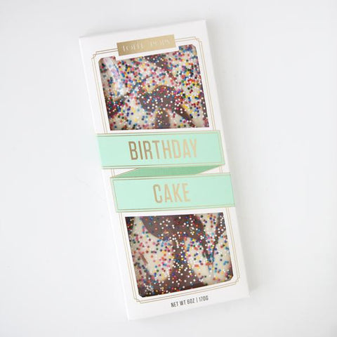 Topp'd Birthday Cake Chocolate Bar