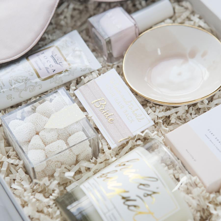 ... best bridal shower gifts engagement gifts unique wedding gifts bridal gift set ... & Blushing Bride Gift Box - Foxblossom Co.