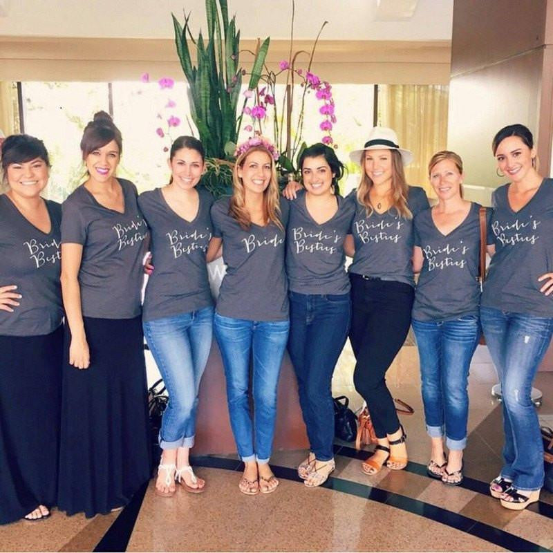 bridesmaid shirts, bridal party tees, bachelorette party shirt, bridesmaid gifts, wedding apparel