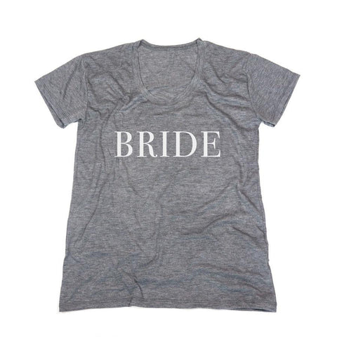 bride tee, bridal shirts, engagement gifts, bridal shower gift, unique gifts for brides, wedding gifts, honeymoon apparel