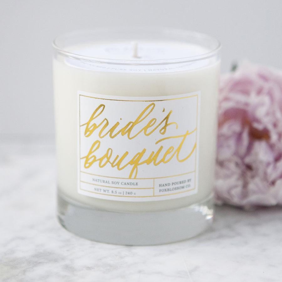 bride candle, wedding candles, bridal shower gifts, engagement gifts