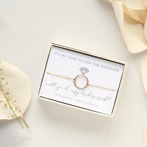 Unique Personalized Bridesmaid Gifts Foxblossom Co