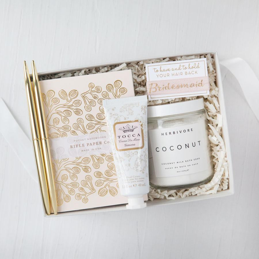 Petite Blush Bridesmaid Gift Box