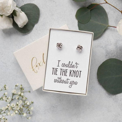 bridesmaid earrings, bridesmaid proposal ideas, personalized bridesmaid gifts, custom gift boxes, luxury gifts