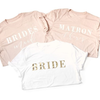Custom Bridal Party Tees