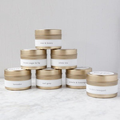 Candle - Be My Bridesmaid Travel Candle, bridesmaid candles, wedding candle favors, natural soy candles