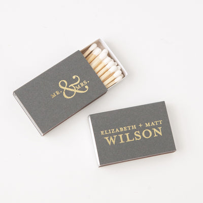 Mr. & Mrs. Custom Matches