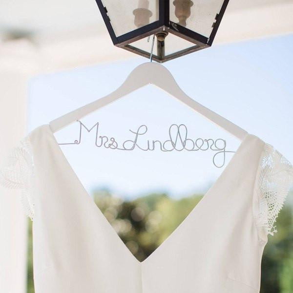 bride hanger, wedding gifts, bridal shower gifts, wedding photo props