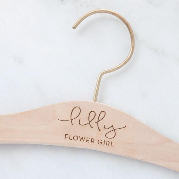 flower girl gifts, flower girl hanger, wedding hangers, jr bridesmaid, bridesmaid gifts