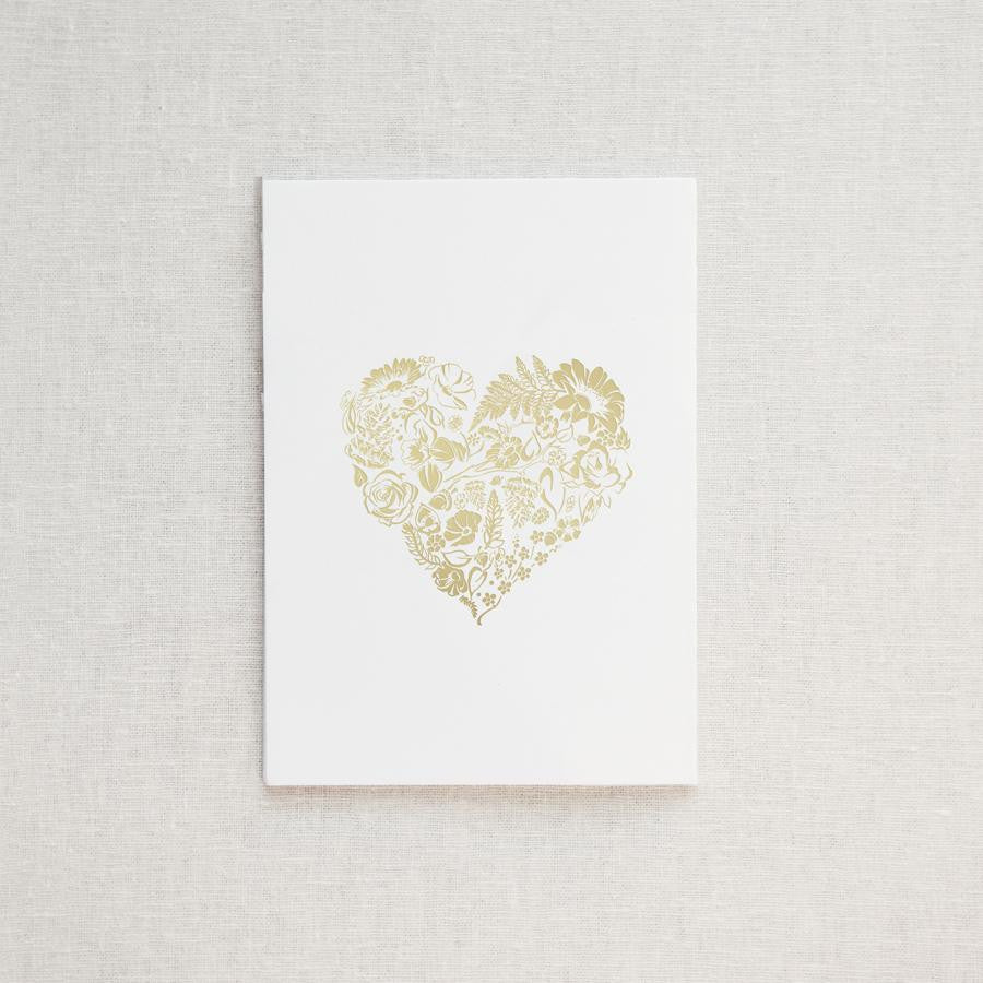Floral Heart Greeting Card & Envelope