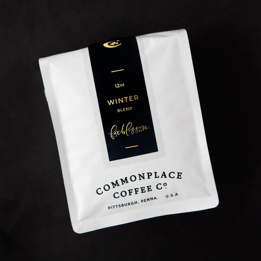 Foxblossom Co. Winter Blend Whole Bean Coffee