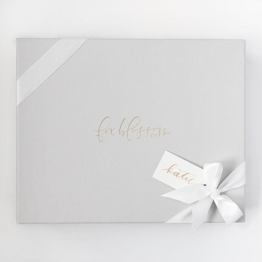 Blushing Bride Gift Box, Luxury Curated Gift Boxes