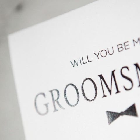 will you be my groomsman card, groomsman proposals, groomsman gifts, be my groomsman, bowtie card