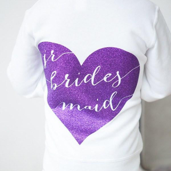 Hoodie - Junior Bridesmaid Hoodie, jr bridesmaid gifts
