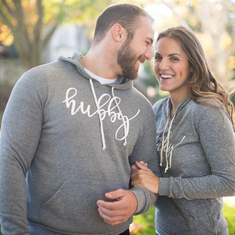hubby sweatshirt hoodie, gifts for groom, couples wedding gifts, honeymoon clothing