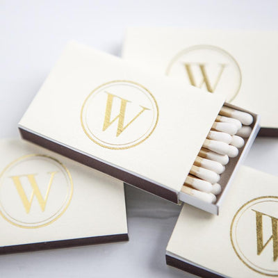 Modern Monogram Custom Matches