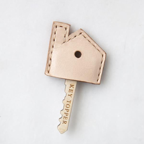 Handmade leather Key Topper